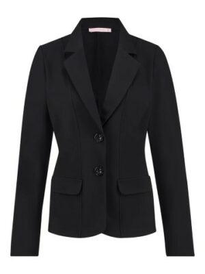 studio anneloes bonded blazer black dames kleding travel qualiteit