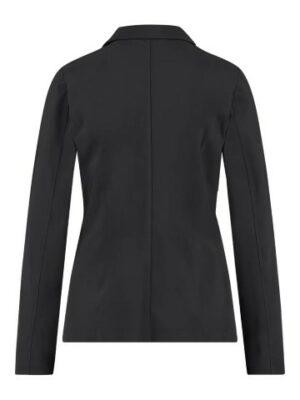 studio anneloes clean blazer black travel qualiteit black
