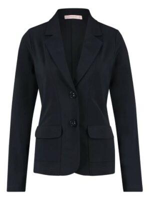 studio anneloes clean blazer dark blue travel qualiteit dames kleding