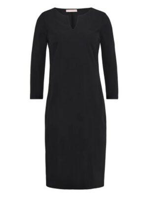 studio anneloes simplicity dress black dames kleding zwart jurk