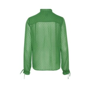 ichi blouse comona amazon green glitter dames kleding groen