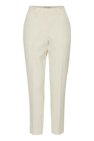 ichi broek lexi tapioca off white dames kleding pants trousers
