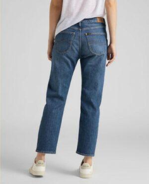lee jeans carol regular straight vintage danny dames kleding spijkerbroek blauw