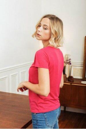 la petite etoile elvie t-shirt fuchsia dames kleding pink