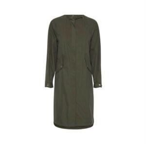 ichi jas emmy forest green dames kleding jacket groen