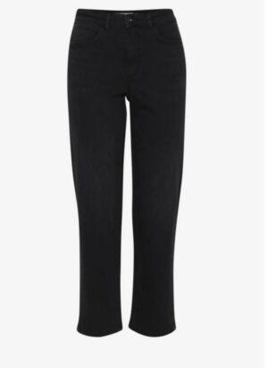 ichi jeans raven black denim zwart spijkerbroek dames kleding