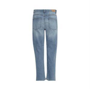 ichi raven jeans blue denim dames kleding broek blauw