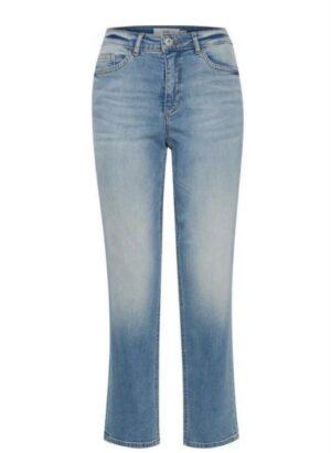 ichi jeans raven blue denim spijkerbroek blauw dames kleding