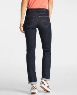 lee jeans marion classis straight dames kleding spijkerbroek blauw