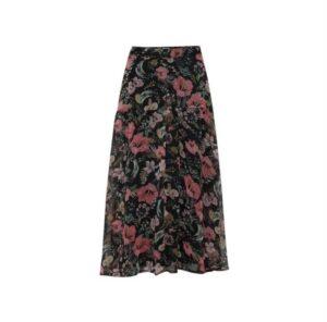 ichi filikke rok multi color dames kleding skirt