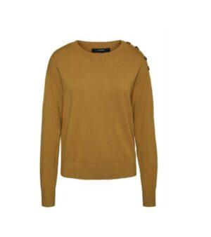 vero moda trui chipkarisara o neck blouse birch