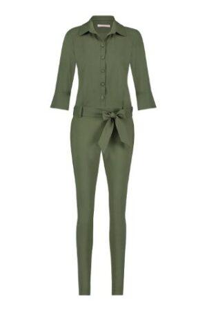 studio anneloes angelique jumpsuit green groen dames kleding