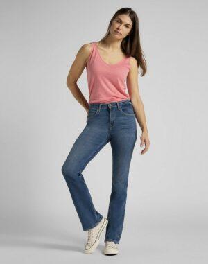 lee jeans breese boot mid worn martha spijkerbroek dames kleding