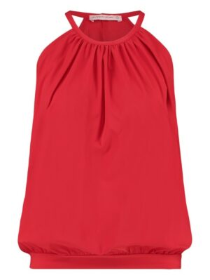 studio anneloes carla top red rood dames kleding mouwloos