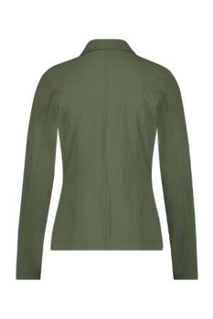 studio anneloes clean blazer green groen dames kleding cobert jasje