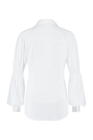 studio anneloes feliz smoq blouse white wit dames kleding