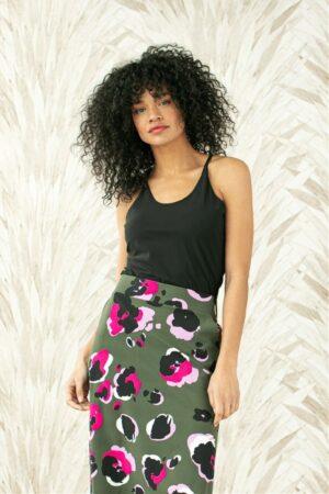 studio anneloes jazz top black dames kleding zwart