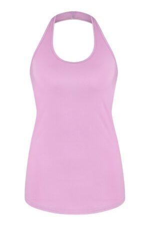 studio anneloes kris halter top lila dames kleding pink roze
