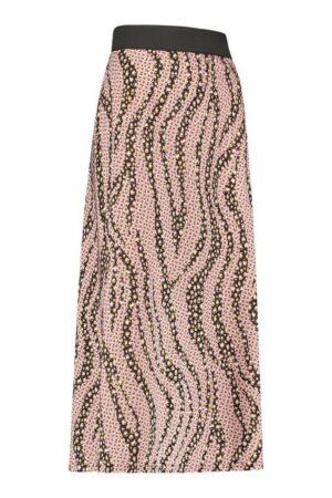 studio anneloes leona fancy leo flower skirt black camel fuchsia creme dames kleding rok zwart camel roze off white
