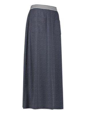 studio anneloes nadine small dot skirt dark blue off white dames kleding rok donkerblauw stippen