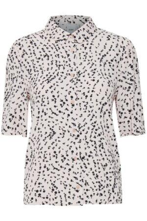 ichi blouse hemmet hushed violet lila dames kleding