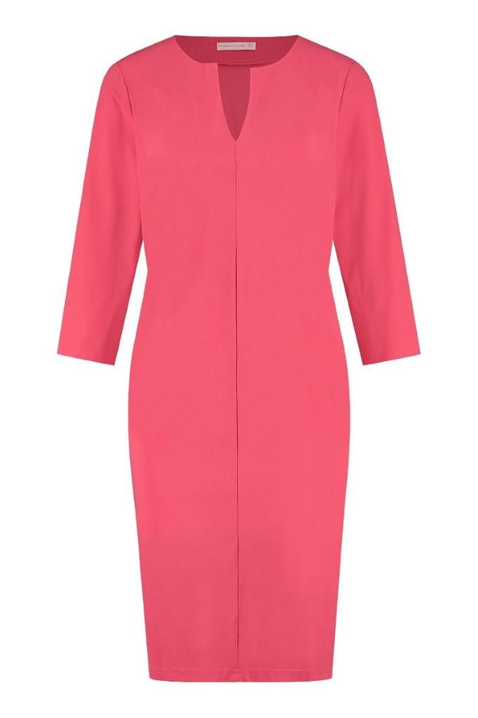 studio anneloes caro dress jurk raspberry roze rood pink red dames kleding
