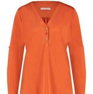 studio anneloes evi blouse deep orange oranje dames kleding
