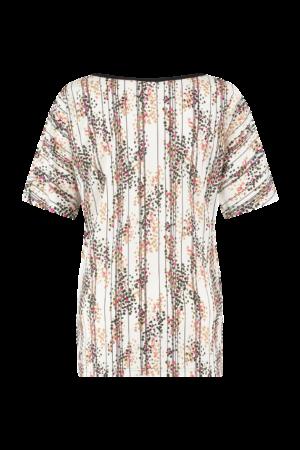 studio anneloes femke arti spot shirt off white camel blouse fuchsia black creme zwart roze camel dames kleding