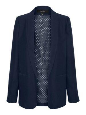 vero moda frances blazer navy blue blauw donkerblauw dames kleding cobert