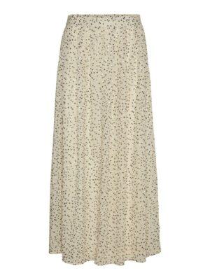 jot high waist ankle skirt birch zand sand rok dames kleding