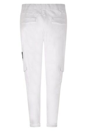 Zoso paloma sporty sweat trouser white witte broek jog dames kleding
