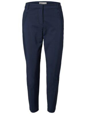 vero moda victoria ankle pants blue blauw pantelon broek dames kleding
