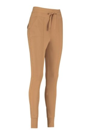 studio anneloes franka 3.0 trousers camel broek bruin zand dames kleding
